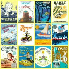 {15 Amazing Vintage Summer Reads for Kids} -- wonderful picture books  chapter books that kids will adore and parents will remember!