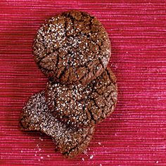 100 Healthy Cookies   Mexican Chocolate Cookies   CookingLight.com