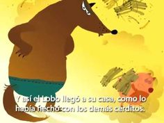 Fairy Tale: Three Little Pigs in Spanish (Los Tres Cerditos) from Speakaboos