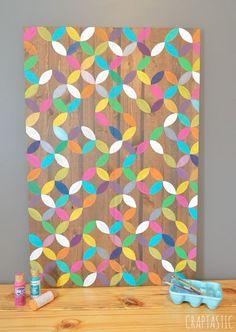 colorful diy art