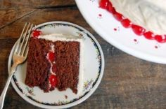 food recipes, cupcak, foods, cake wonder, devil food, cherri devil, cherries, eat cake, food cakes