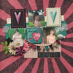 Kit used:  Kimeric Kreations' All You Need Is Love.  Template:  Le Pingouin Designs' Single Pack 6 available at http://scraptakeout.com/shoppe/Single-Pack-6.html