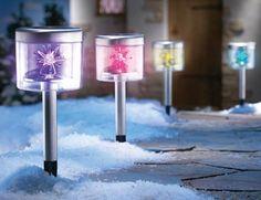 Color Changing Solar Starlight Garden Path Light