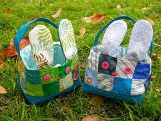 Cesta de coelho da Páscoa | costurado POR TeresaDownUnder