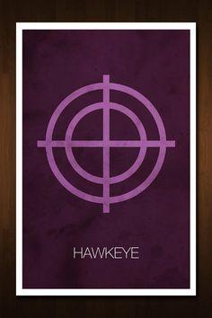 Hawkeye Avenger Art Print  Poster Inspired by designbynickmorrison, $11.99