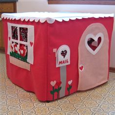 Card table playhouse !
