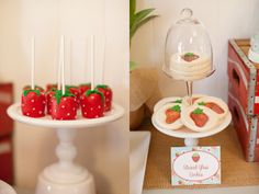 Lovely Strawberry Party #strawberry #party