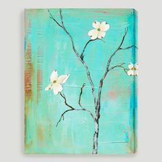 outdoor wall art, outdoor art, idea, laura gunn, canvas prints, turquoise, canvas wall art, paint, canvases