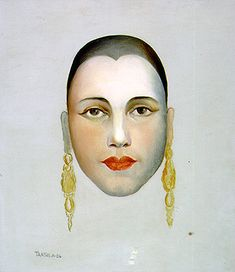 "Self-portrait by Tarsila do Amaral (1986-1973), author of the celebrated ""Abaporu"""
