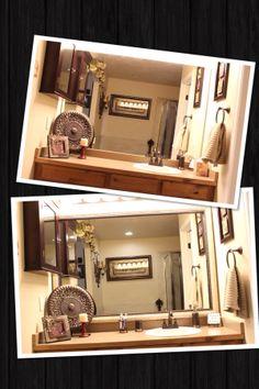 bathroom mirror frames on pinterest frame a mirror