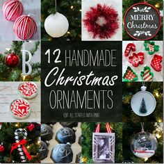 12 Handmade Ornament