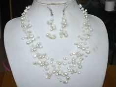 Free shipping genuine handmade white cultured by xueyaojewelry, $16.50