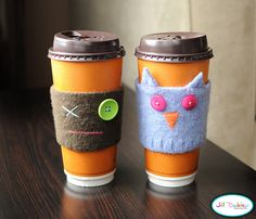 FAB felting idea - made from shrunken jumper cuffs!! I want to try this method for soft toy gifts and hair accessories