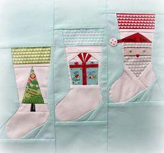 Christmas stocking block