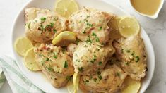 This tender chicken in a luscious lemon-Dijon sauce might look like it came from a nice restaurant, but it's a dish you can cook up in your own kitchen, while staying within budget (and under 400 calories!). The trick is using the cooking juices as the base of the rich-tasting sauce and upping its flavor further with a couple of impactful ingredients, like Dijon, rosemary and lemon. While we often like cooking with boneless chicken thighs for the sake of convenience, bone-in chicken ensures...