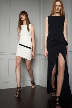Mono Minimal Modern #dress I Elie Saab Resort 2014 #fashion #resort2014