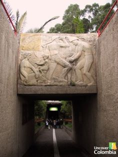 Zipaquira Salt Cathedral Entrance - Uncover Colombia