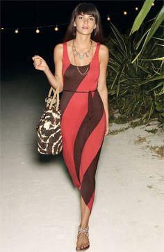FELICITY & COCO Stripe Jersey Maxi Dress | #Nordstrom