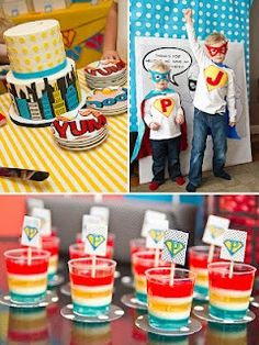 superhero parti, superhero party, superhero birthday party, super hero birthday, birthday party themes, six sisters stuff, parti idea, boy birthday parties, kid