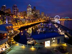 Great Wheel addition to our Seattle piers skyline