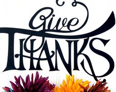 Give Thanks Metal Sign - Autumn Decor, Fall Sign, Metal Wall Decor, Outdoor Wall Art, Thanksgiving Decor, Kitchen Wall Decor, Metal Art