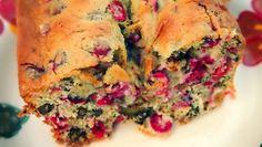 Healthy cranberry/orange bread