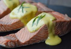 Poached Salmon with No-Fail Hollandaise