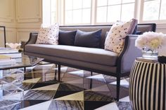 The Most Stunning Before and After// amazing marble floor