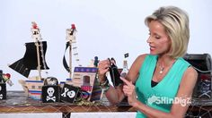 VIDEO-- Pirate Goodie Bags & Party Decorations - by Shindigz