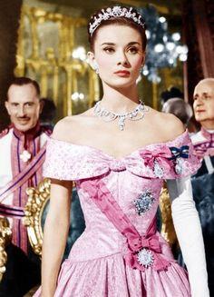 Audrey Hepburn in 'Roman Holiday' <3 1953