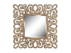 Shop for Stein World Square wall mirror, 12122, and other Living Room Mirrors at Stein World in Memphis, TN.