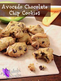 Avocado Chocolate Chip Cookies Recipe
