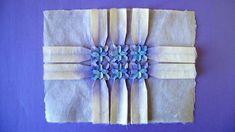 Origami Time Lapse: Tiled Hydrangea Tessellation (Shuzo Fujimoto)