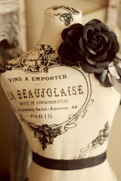 La Beaujolaise Dress Form
