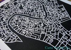 Map papercut