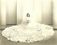 1940s bride....