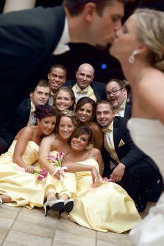 bridal party shots, vision photographi, bridal parties, eagl vision