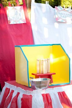 The Wedding Carnival. DIY Carnival Games for your wedding reception or rehearsal dinner. Milk Bottle Throw