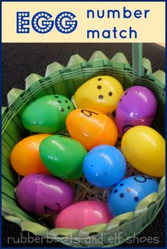 plastic easter egg number fun