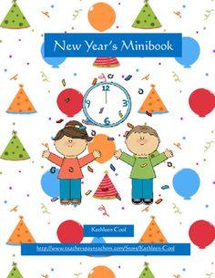 Free New Year's minibook