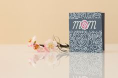 Drawn Floral Mother's Day Card. Make It Now in Cricut Design Space