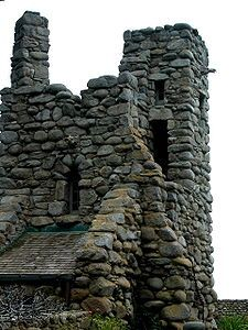 Robinson Jeffers's Tor House and Hawk Tower in Carmel, California