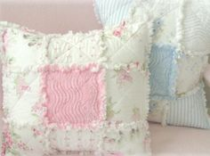 quilted rag pillows
