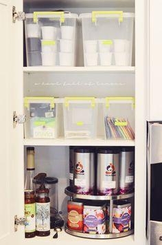 A bowl full of lemons.: Home organization 101: The Kitchen... TEA ORGANIZATION