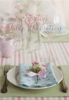 Idea for Spring Table Decoration ? ???? ?? ???????? ????????? ?? ????