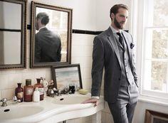 men looks, style photo, grey suits, dream bathrooms, men fashion