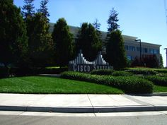 Cisco Systems headquarters signage in San Jose, California.