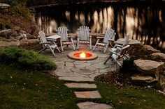 patio/fire pit idea - NOT A WORKING LINK!