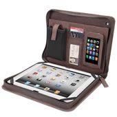 The Kangaroo Leather iPad Portfolio.