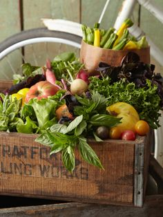 Chef's Garden - 5 CENT SHIPPING: CSA-style Seasonal Vegetables and Herbs